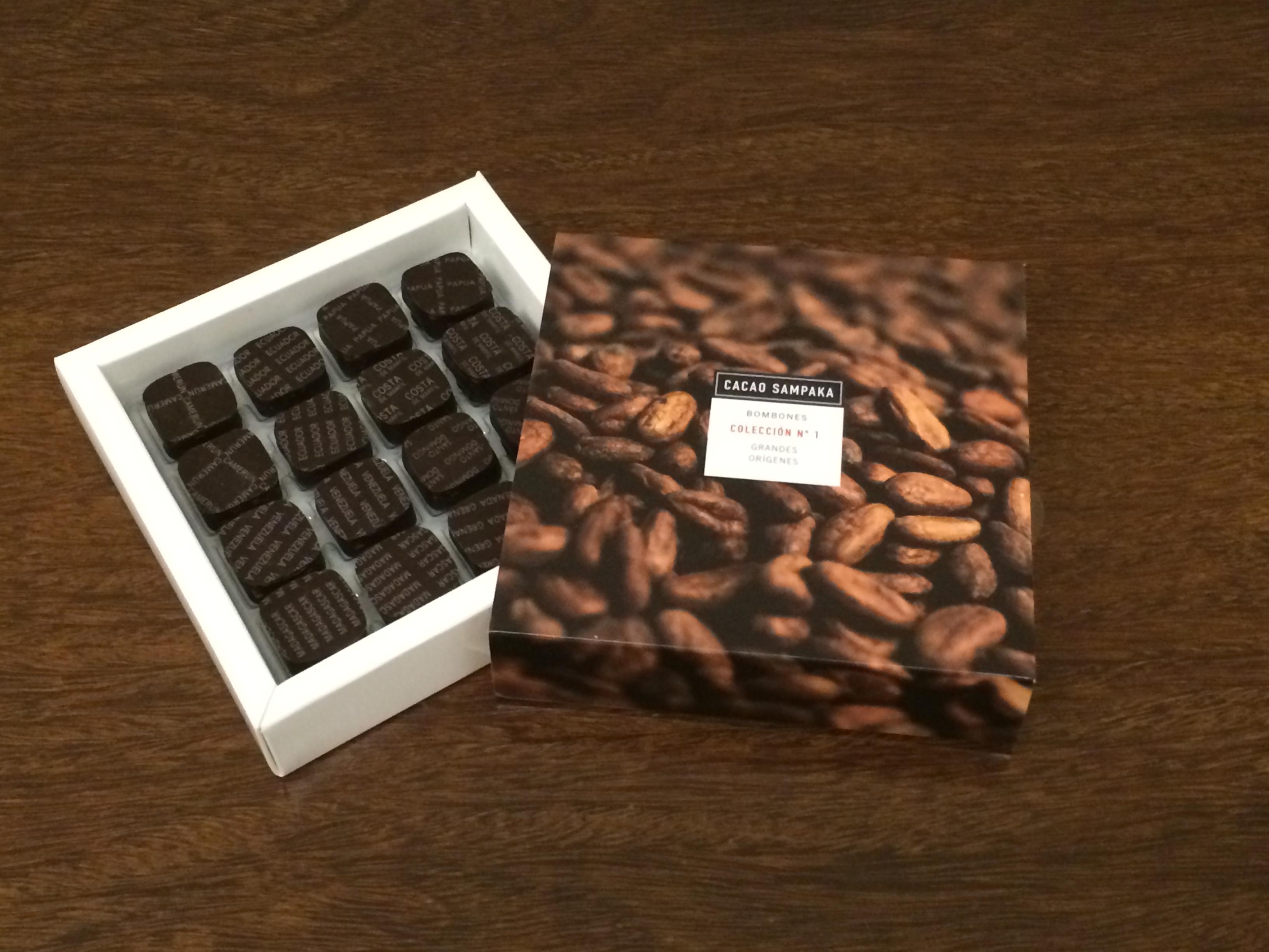 cacao sampaka chocolate espanhol no brasil choc243latras