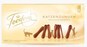 Feodora - katzenzungen (língua de gato)