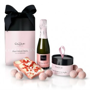 The Pink Collection: trufas, champagne e slab