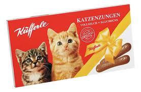 Küfferle Katzenzungen (língua de gato)