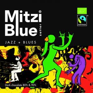 Zotter Mitzi Blue Jazz Blues