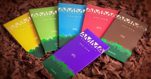 AMMA Chocolate Orgânico