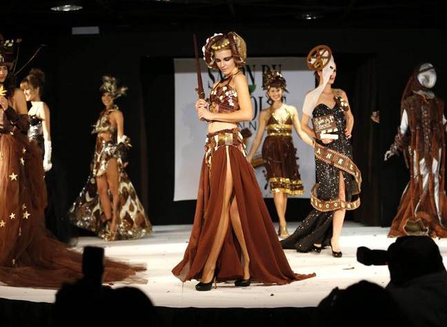 Salon du Chocolat - Chocolate Fashion Show 2012