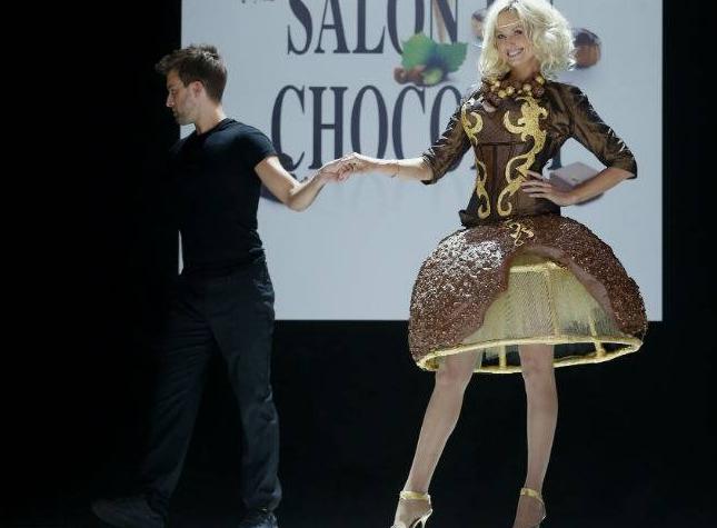 Salon du Chocolat - Chocolate Fashion Show 2012b