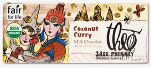 Theo Chocolate- Coconut Curry