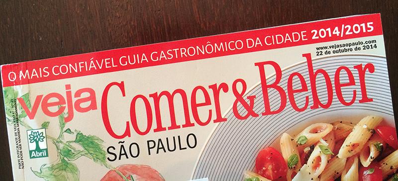 Veja Comer e Beber - chocolates 2014