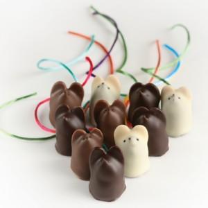 Burdick Chocolate - chocolate mice ratinhos