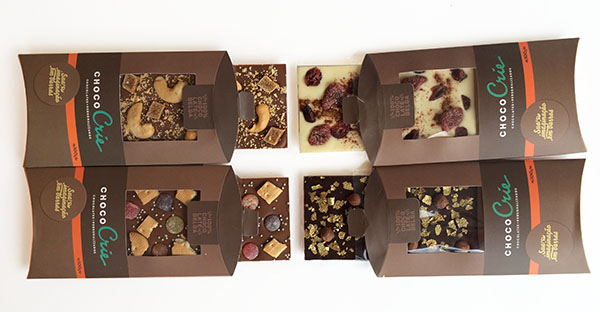 Choco Crie barras de chocolate