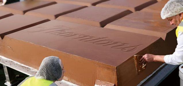 Guinness world records - Thorntons - maior barra de chocolate - out2011