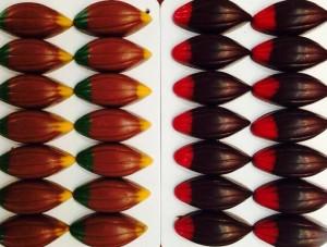 Cau Chocolates - bombons caipirinha e goiaba