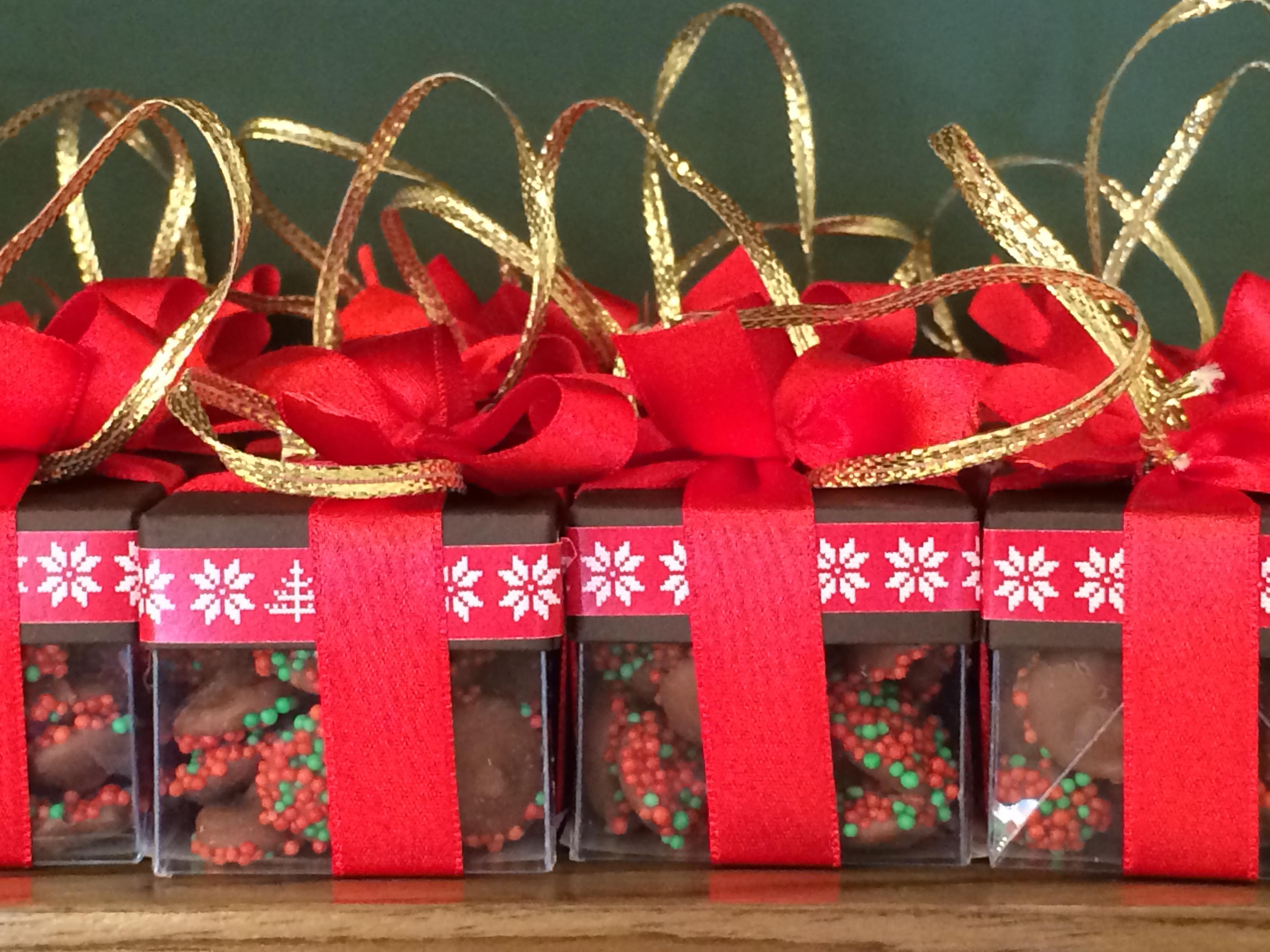 Natal Com Enfeites De Chocolates Chocolatras Online -> Enfeites De Fotos