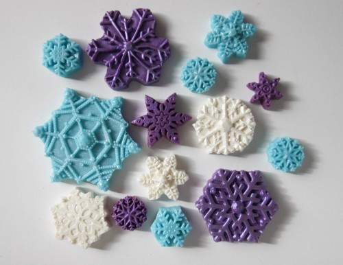 The Frosted Petticoat - snowflakes