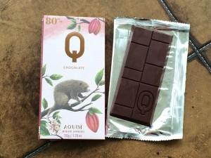 Chocolate Q 80 % cacau
