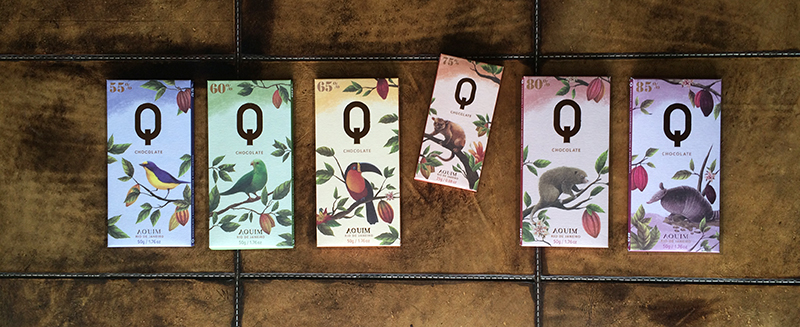 Chocolate Q - tabletes - Chocólatras Online