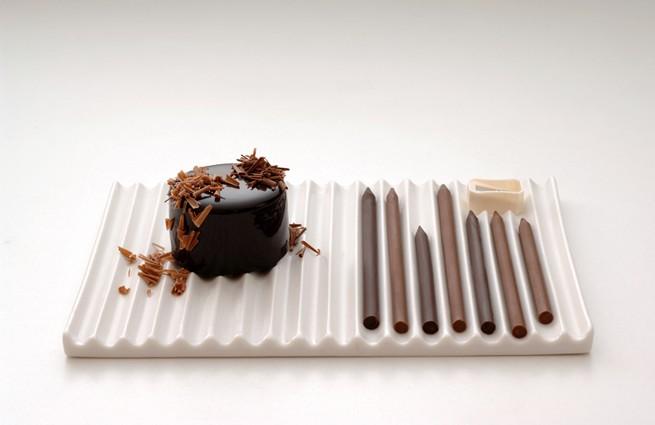 Hironobu & Nendo - Chocolate Pencils