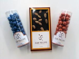 Jean Philippe - chocolate em barra e bolas