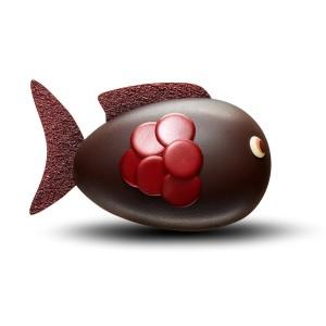Fauchon - Poisson d'Avril Chocolat Noir
