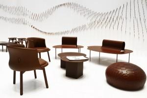 Nendo - Chocolatexture Lounge - Maison Objet - foto de designboom