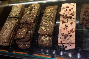 Paradis barras de chocolates