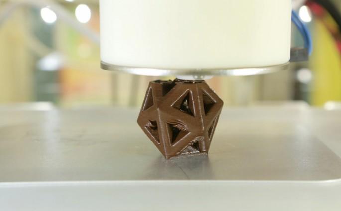 Cocojet Impressora 3D de chocolates
