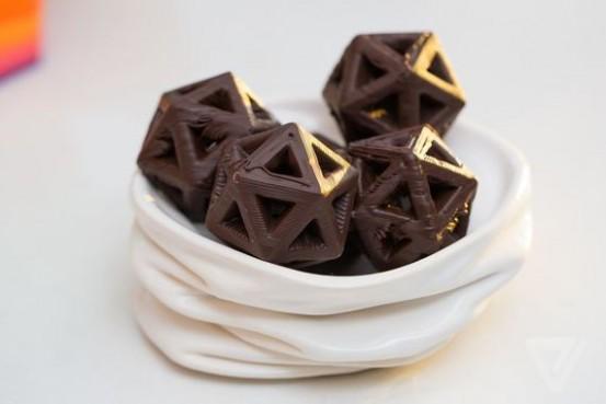 Cocojet impressora 3D- mais chocolates