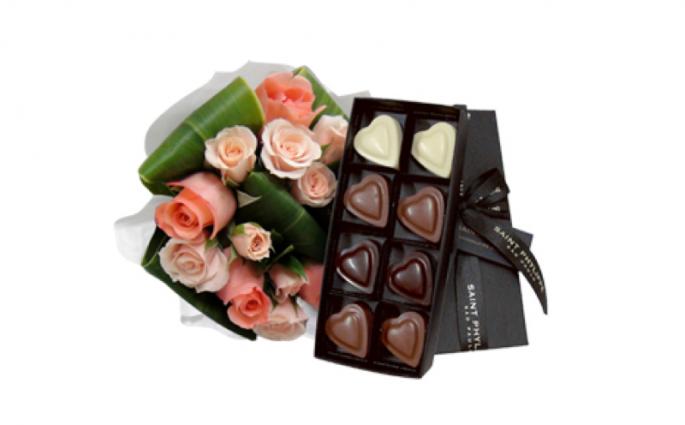 dia das mães flores e chocolates Flores Online