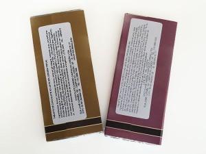 Chocolate Montanhes - barras compradas verso