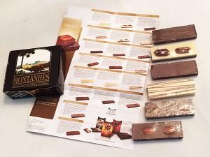 Chocolate Montanhes - barrinhas