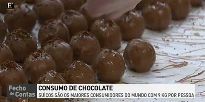 Consumo de chocolate per capita
