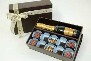 Vila Chocolat - Baby Chandon e bombons