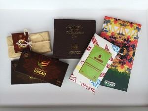 Chocolates com cacau brasileiro