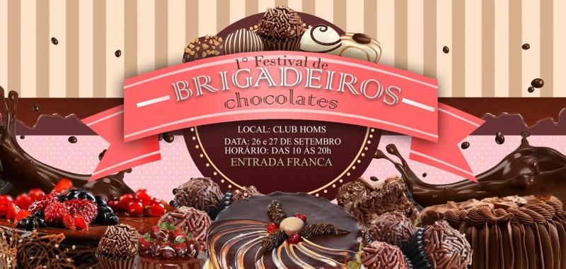 Festival de Brigadeiros e Chocolates