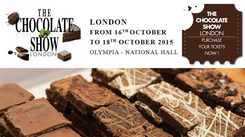 The Chocolate Show - Londres - 2015