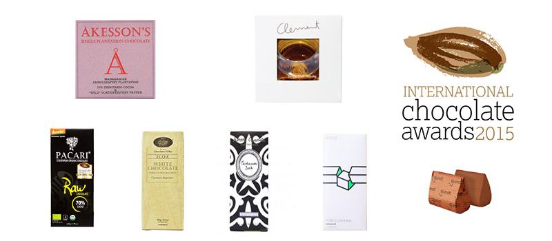 International Chocolate Awards 2015