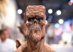 escultura de chocolate de Diego Lozano no World Chocolate Masters 2015