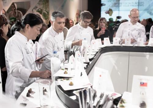 Flavio Fedearico no juri do World Chocolate Masters 2015