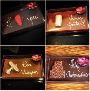Renata Arassiro - placas de chocolate belga