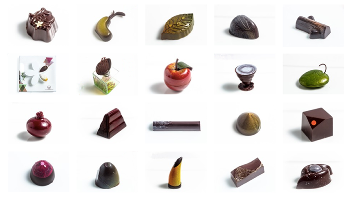 World Chocolate Award 2015 bombons