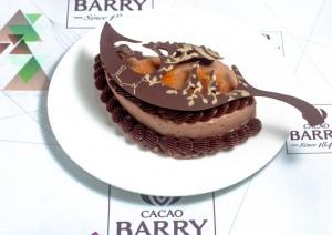 doce de Hisashi Onobayashi no World Chocolate Masters 2015