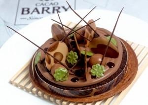 doce de Marijn Coertjens no World Chocolate Masters 2015