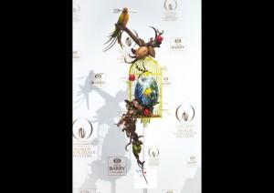 gaiola de Hisashi Onobayashi no World Chocolate Award 2015