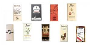 alguns dos chocolates premiados no Good Food Awards 2016