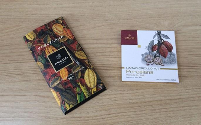 Chocolates com Cacau Porcelana: Domori e Amedei