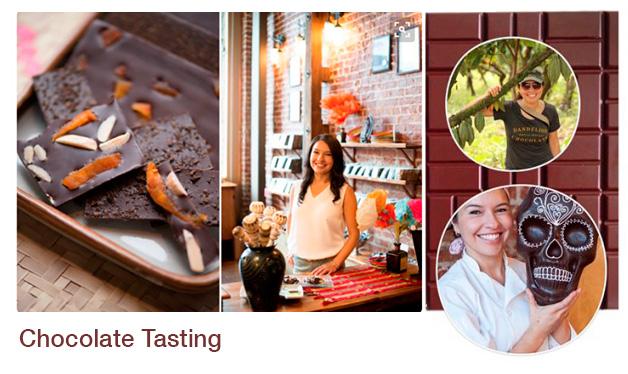 Degustação de chocolate com Arcelia Gallardo - FoodPass