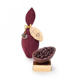 Chocolat du Jour Ovo de páscoa chocolate 80% cacau Pratigi