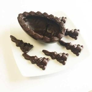 Crismel - Meio Ovo de páscoa chocolate Q Fermentation Ocoa