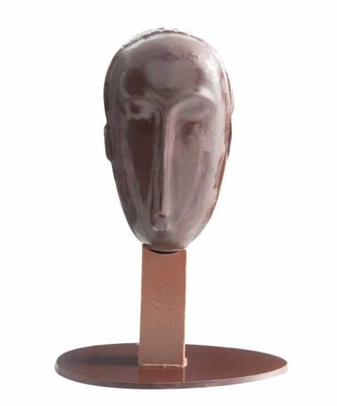 Jadis et Gourmande - -ovo de páscoa inspirado em Modigliani