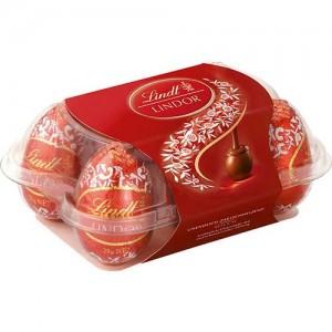 Lindt caixa de ovos