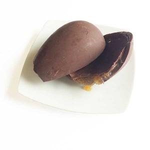 Mendoá Ovo de páscoa chocolate 70% cacau brasileiro casca recheada de cupuaçu