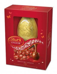 Lindt Lindor ovo com mini ovinhos